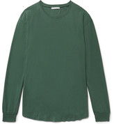 John Elliott - Cotton-jersey T-shirt - Green