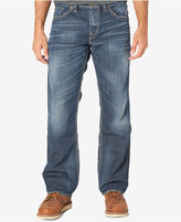 Silver Jean Co. Men's Gordie Loose Fit Straight Jeans