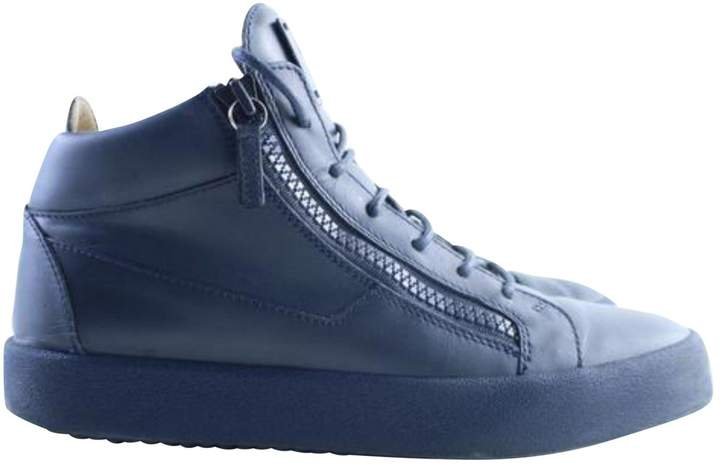 Giuseppe Zanotti Navy Boots