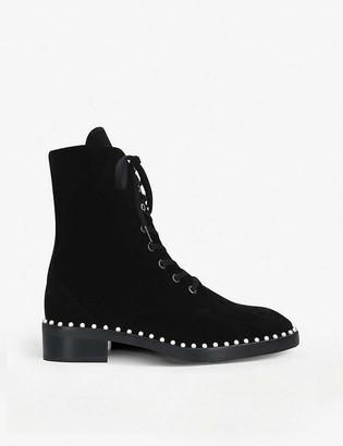 Stuart Weitzman Sondra leather ankle boots