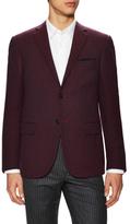 Corneliani Wool Birdseye Notch Lapel Sportcoat