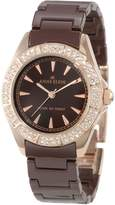 Anne Klein Women's 10-9682RGBN Ceramic Quartz Watch with Dial