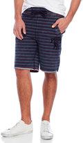 PRPS Stripe Denim Lounge Shorts