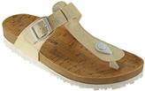 Gold Sonia T-Strap Sandal