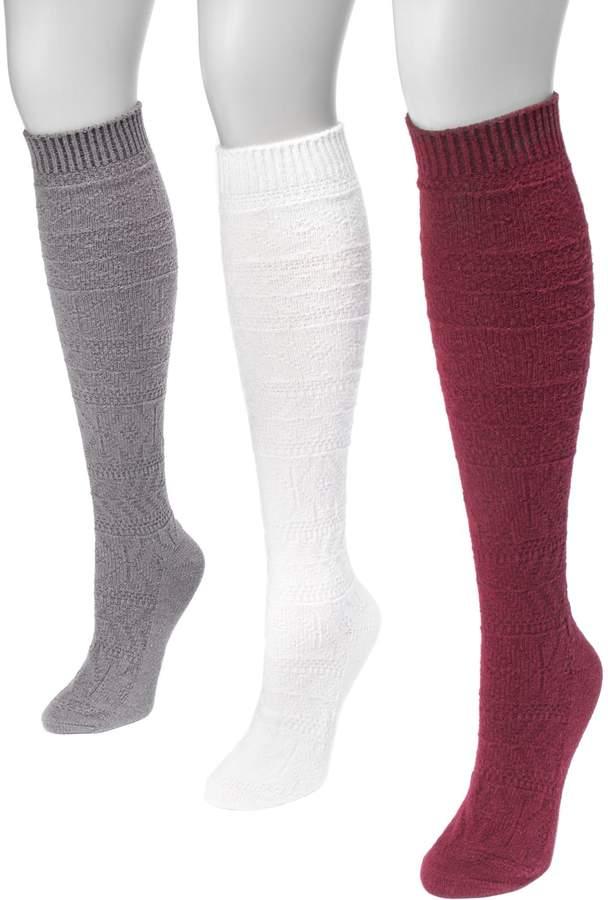 48faa93a3 Cotton Knee High Socks - ShopStyle