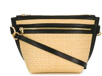 Sacai trapezoid shoulder bag