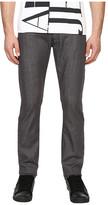 Armani Jeans Slim Fit Zipper Closure Jeans in Grey