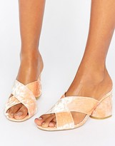 Asos HIPPY Heeled Mules