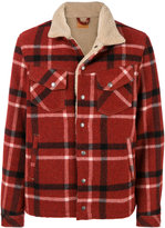 Nudie Jeans checked button up jacket