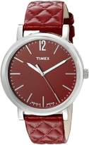 Timex Women's TW2P71200AB Heritage Collection Analog Display Quartz Watch