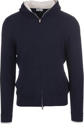 Fedeli Dark Blue Game Vintage Man Pullover