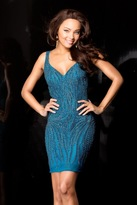 Scala 48608 Dress In Dark Teal