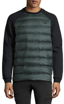 New Balance Raglan Quilted Sweater