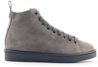 Panchic Taupe Suede Grey Boot