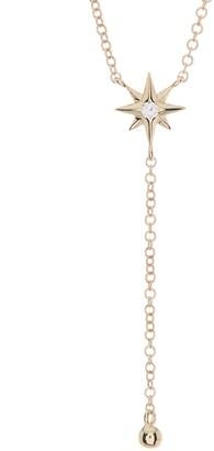 Ron Hami 14K Yellow Gold Diamond Star Lariat Y-Necklace - 0.03 ctw