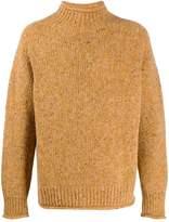 YMC mock neck slouchy sweater