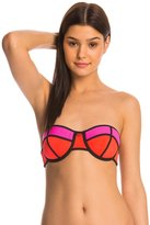 Fox Capture Balconet Bandeau Bikini Top 8142458