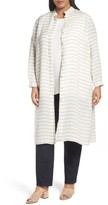 Lafayette 148 New York Plus Size Women's Auden Stripe Tunic