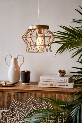 Urban Outfitters Talia Caged Pendant Light