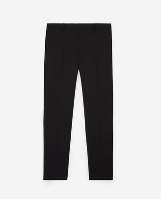 The Kooples Slim-fit stretch wool black suit trousers
