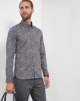 Floral Print Cotton Shirt
