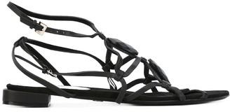 Giorgio Armani Pre-Owned open toe sandals
