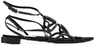 Giorgio Armani Pre-Owned Open Toe Sandals