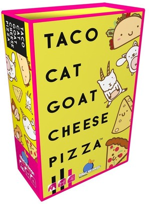 Blue Orange Games Taco Cat Goat Cheese Pizza Card Game