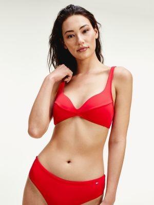 Tommy Hilfiger Padded Demi Cup Bikini Top