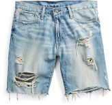Denim & Supply Ralph Lauren Straight-Fit Distressed Short