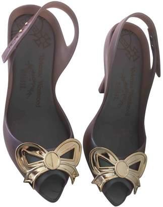 Vivienne Westwood \N Purple Rubber Heels