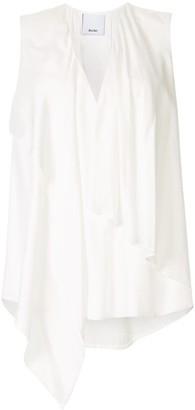 Acler Bearing draped blouse