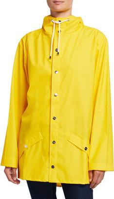 Rains Hooded Fishtail Raincoat