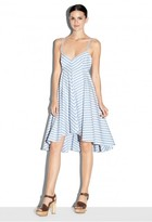 Milly Breton Stripe Trapeze Dress