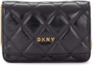 DKNY Sofia Shoulder Bag Made Of Black Quilted Leather