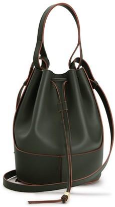 Loewe Medium Leather Balloon Bucket Bag