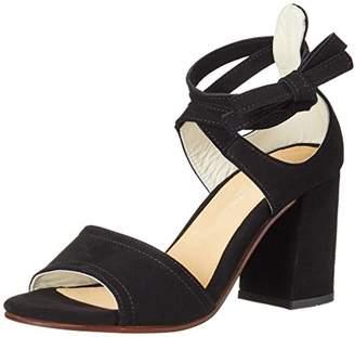 Marc O'Polo Women's 70214021303302 High Heel Sandal Open Toe Sandals Black (BLACK) Size: 5
