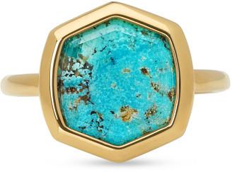 Kendra Scott Davis 18k Gold Vermeil Cocktail Ring