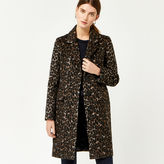 Warehouse Animal Print Coat