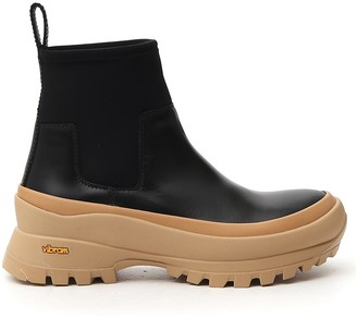 Jil Sander Chunky Sole Boots