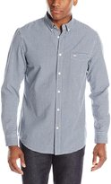 Dockers Long Sleeve Gingham Chambray Cotton Shirt