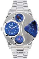Storm V2 Navigator Lazer Blue Stainless Steel Mens Watch