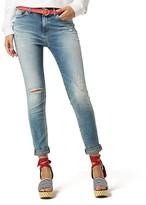 Tommy Hilfiger Distressed Slim Fit Jean