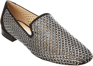 Jimmy Choo Jaida Crystal Embellished Slipper