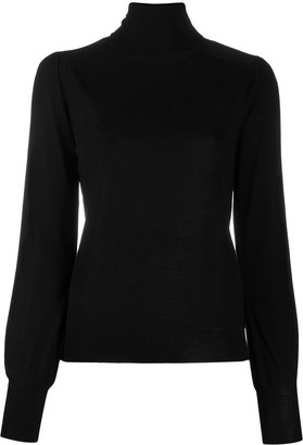 Pinko Fitted Cuff Wool Jumper