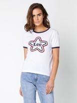 Lee Retro Star Ringer T-Shirt