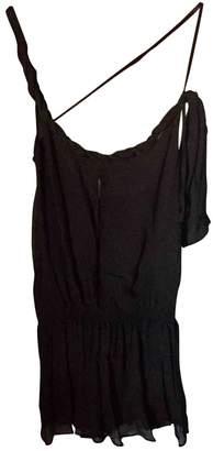 GUESS Black Silk Tops