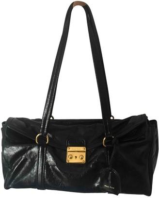 Miu Miu Bow bag Black Patent leather Handbags