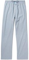 Calvin Klein Underwear Striped Cotton Pyjama Trousers - Blue