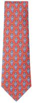 Vintage Red Ribbon Silk Tie